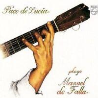 PACO DE LUCIA - PACO DE LUCIA PLAYS DE FALLA  CD NEU