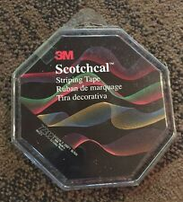 "3M Scotchcal Pin Striping Tape #72302 - 5/16"" x 150' - Black"