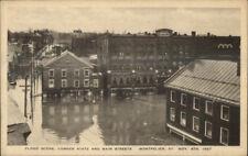 Montpelier VT 1927 Flood Damage VINTAGE EXC COND Postcard #6