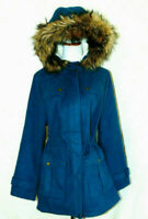 Denin & Co.Polyester Blend Parka Polyester Blend Coat Polyester Jacket Sherpa~ M