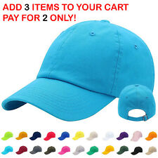 Mens Adjustable Cotton Baseball Caps Dad Hat Washed Ball Cap for Men and Women