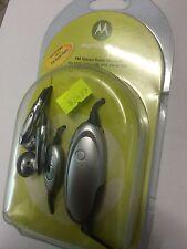 Motorola E398,V60/i,V66,V70,V80,V501 FM Stereo Radio Headset Original. Brand New