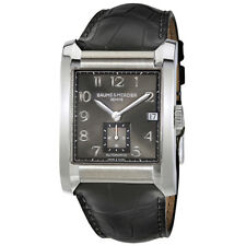 Baume and Mercier Hampton Milleis Leather Mens Watch 10027