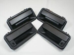 EXTERIOR SET OF 4 DOOR HANDLES 1995-1999 Chevy GMC C/K SUBURBAN TAHOE YUKON