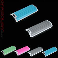 2x Deckel Batterie Abdeckung Akku Cover Nintendo Wii Controller Remote Blau Grau