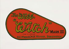 Webb Witch Vintage Mower Chain Cover Decal