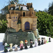 MINI Polly Pocket Harry Potter Hogwarts Schloss SOUND W. Bros & mini Figuren