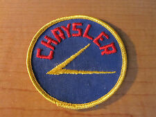 CHRYSLER Automobile Dealer Embroidered Cloth Patch MOPAR Original Free US Ship