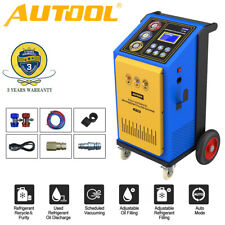 Fully Automatic Ac Refrigerant Recovery Recycling Recharging Filling Machine