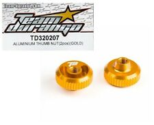 RC Team Durango TD320207 Aluminum Thumb Nut 2pc Gold DEX210 DESC210 Buggy Option