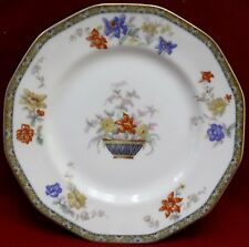 HAVILAND Limoges china GANGA pattern Luncheon Plate  8-5/8""