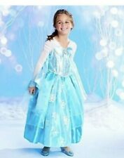 SIZE 7/8~FROZEN ELSA GOWN~A++ Quality~RETIRED DELUXE ORIGINAL DISNEY~New w/ TAG