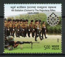 India Military Stamps 2020 MNH 4th Battalion Outram's Rajputana Rifles 1v Set