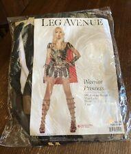 Warrior Princess Dress Halloween Costume Women Size M by Leg Avenue #83454 NIP