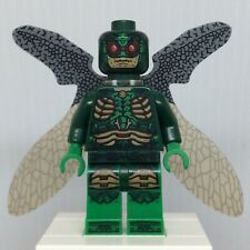 LEGO DC Super Heroes sh433 Parademon Minifigure in Dark Green with Wings