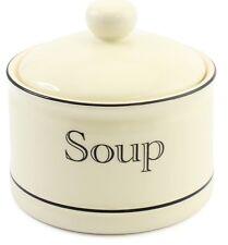 Leonardo Collections Large Lidded Soup Bowl 500ml CREAM