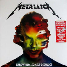 METALLICA Hardwired..To Self-Destruct 2016 Limited RSD 2016 RED Vinyl NEW/SEALED