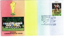 St Vincent Grenadines Bequia FDC 1986 Mexico World Cup West Germany Team