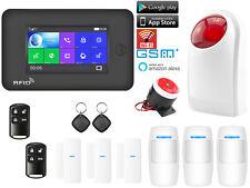 K93 APP WiFi GSM Wireless Home Security Alarm System+Amazon Alexa+Strobe Light