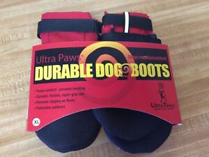 Ultra Paws Durable Dog Boots Size Petite Washable Reusable NEW