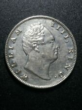 More details for 1835 william iiii king east india company one rupee rare silver coin