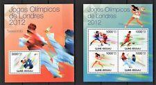 GUINE-BISSAU 2012 - JOGOS OLIMPICOS DE LONDRES - OLYMPICS - BOX TAE FOOT MNH** D