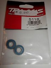 Traxxas Ball Bearing Blue Rubber Sealed 8x16x5mm (2) #5118 NIP