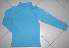 Tee shirt sous-pull 8 ans garçon KIABI bleu turquoise 100 % coton