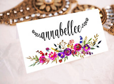 Wedding Name Placecards Personalised Name Custom Escort Cards Guest Name V3