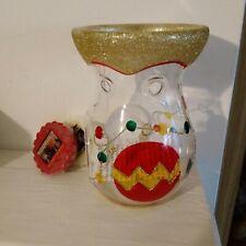 YANKEE CANDLE GLASS WAX MELT BURNER