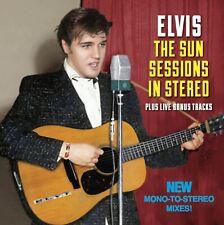 ELVIS THE SUN SESSIONS IN STEREO PLUS LIVE BONUS TRACKS