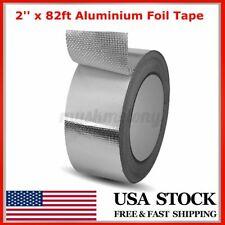 2'' x 82ft Aluminium Foil Tape Self Adhesive Leak-sealing Heating Duct Repair US