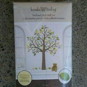 Koala Baby Peel & Stick Wall Art Tree Sticker Vinyl Decal Baby Nursery Mural