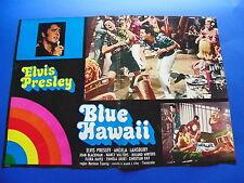 FOTOBUSTA BLUE HAWAII ELVIS PRESLEY ANGELA LANSBURY NANCY WALTERS HAYES RARA 3F6