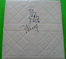 YASIEL PUIG Los Angeles Dodgers Signed/Autographed Baseball Base - JSA COA