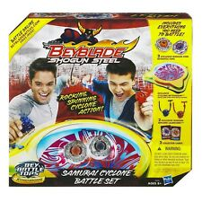 BeyBlade Shogun Steel Samurai Cyclone Battle Set Beyblade * NEW