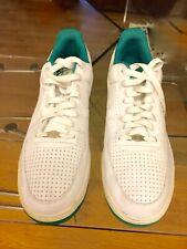 NearNu Pair Of Leather Nike Air Tennis/Walking Mens' Shoes 10.5Us L.A,Cal pu/del