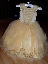 Size 4 Disney Store Limited Edition Beauty and the Beast Belle Costume Dress New