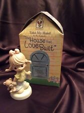 "PRECIOUS MOMENTS ""TAKE MY HAND"" 119460 RARE RONALD McDONALD HOUSE CHARITY PIECE"