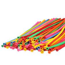 200pcs New Balloons verschiedene Farben Latex 260Q Traditional Modelling Ballon