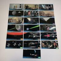 Star Wars 1994 Widevision Trading Cards Lot of 19