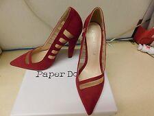 Muñecos de Papel Rojo Zapatos Talla 4