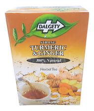 2 X Dalgety Solide Curcuma & Gingembre Tisane