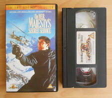 The James Bond 007 Collection (1999) - On Her Majesty's Secret Service - VHS