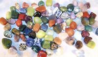 5 POUNDS OF POLISHED GEMSTONE ROCKS novelty stones VARIETY real ROCK assortment