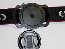 72mm 77mm 82mm Lente Tapa anti-losing Cámara hebilla para todas las cámaras