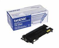 1x Brother Original Oem Cartucho de tóner láser TN2000-2500 páginas