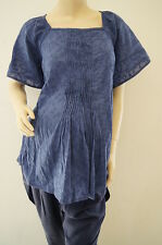 Topshop Maternity Pleated Front Top Dress Size 12 FREE P&P BNWT LJ
