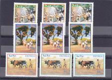 stamps ERITREA 2004 SC 380-388 RURAL LIFE MNH SET ER#20 LOOK
