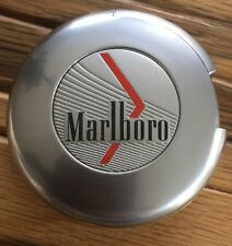 Marlboro Rot Rund Feuerzeug Gas Neu  Wiederbefüllbar Original Werbefeurzeug Rar